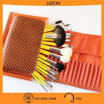 Best Sable Professional Cosmetic Brush Set with Double Bag Package
