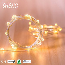 new style high end lights hot sale christmas copper string lighted street decorations diy