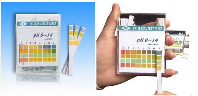 Universal indicator paper PH 0-14 test paper