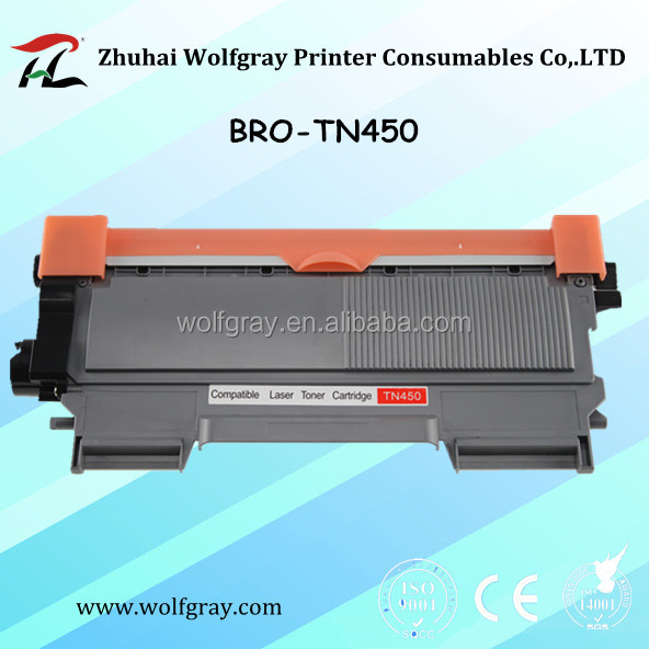 Compatible toner cartridge for brother TN450 HL-2220/2230/2240D/2242D/2250DN/2270DW