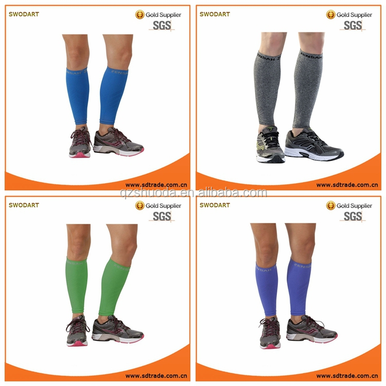 Custom Color Compression Leg Sleeves - Calf Compression Sleeve for Running