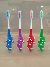 Health care product silicone baby toothbrush for home use