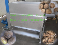 High Quality Coconut Shell Fiber Shelling Machine/ Old Coconut Fibre Extracting Machine