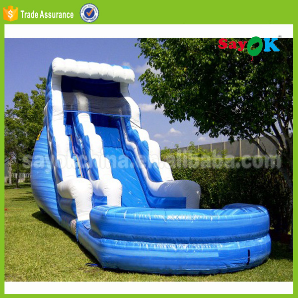 Manufacturer wholesale bounce round china cheap large used commercial big sale prices giant inflatable water slides for adult