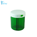Large 4 Compartments Fish Oil Vitamin Medicine Pill Organizer Pill Container Pill Storage Case