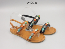ladies shoes with stone chain color shoes sandals