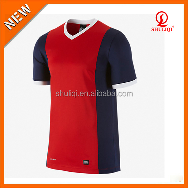 wholesale football shirt maker dri fit soccer jersey