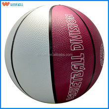 stocking a lot promotion deep seam rubber basketball
