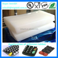 General purpose molding htv silicone rubber compounds