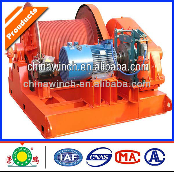 Windlass anchor winch