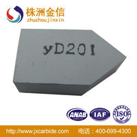 K20 carbide tips/Brazed tips of cemented carbide with top quality