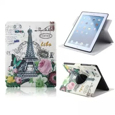 For Apple iPad 5 Phone Case Beautiful Cute Print Cover Stand PU Leather Phone Bag Magnetic Smart Shell Case Wallet