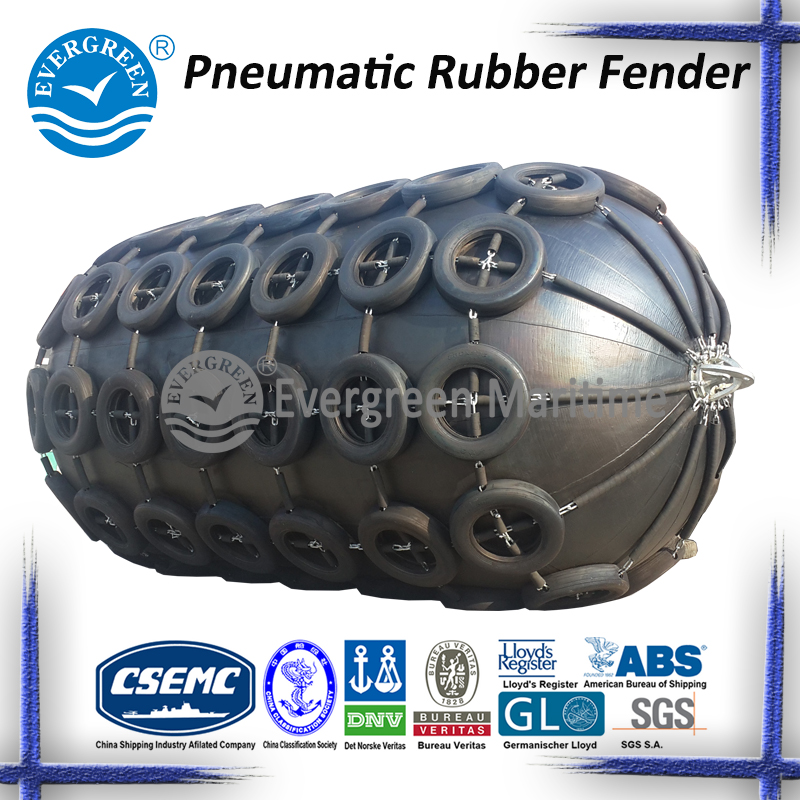 Floating Pneumatic Rubber Fender with Third Party Certificate