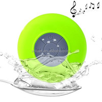 BTS-06 Portable Mini Waterproof Bluetooth V2.1 Speaker with Sucker for iPad / for iPhone & Other Bluetooth Enabled Mobile Phones