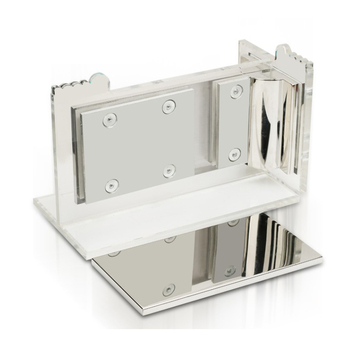 High quality SAFE good price stainless steel glass door patch fitting