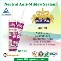Canton Fair kitchen/bathroom anti fungus silicone sealant