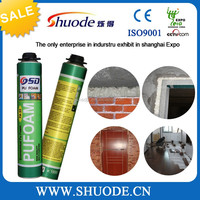 600g low expansion installtion wooden door pu foam