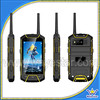 Unlocked W932 Android 4.2 PTT rugged walkie talkie phone Mtk6582 Quad Core rugged GPS 3G 4''