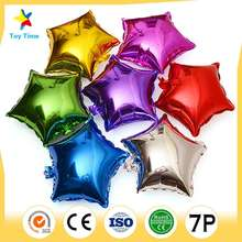 Heart Stars 10inch Custom Aluminium Foil Balloon Birthday Party Decoration Wedding Foil Balloons