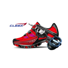 Cleex, Bicycle Shoes, One touch desorption solution, Cleat Shoes & Pedal Set