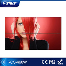 46 inch 3x3 LCD video wall ; professional seamless exhibition video wall (RCS-460W)