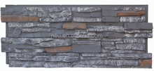 Polyurethane faux stone rock panel,Brand store decoration.drystack stone wall,unique quality
