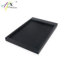 HUAXIN Jewelry Display Design Wooden Jewelry Pendant Tray Insert Jewelry Shop Showcase