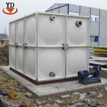 Beautiful appearance industrial frp water tank for hotel