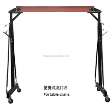 Zhejiang manufacturer portable Mini Electric Mobile Gantry Crane