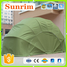 Layer painted silver sunscreen insulation bicycle garage