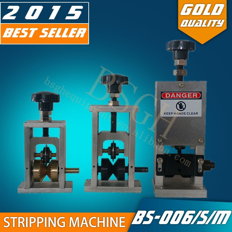 BS-006 Mini drill driven manual cable pulling equipment with favourable price