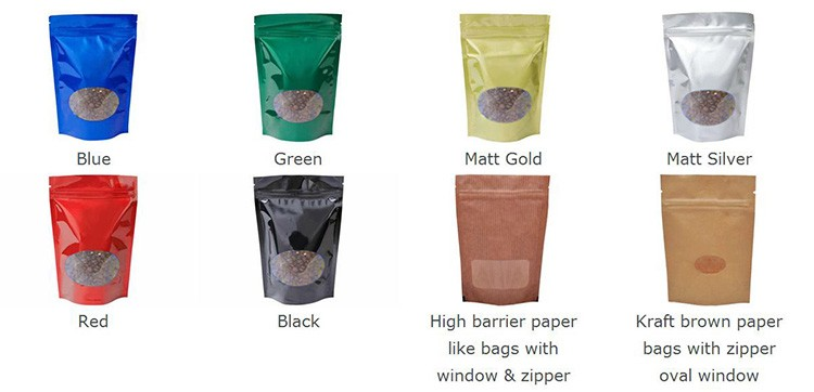 High temperature resistant plastic bags for coffee packaging