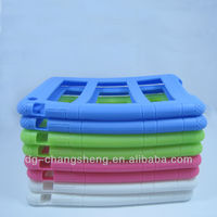2014 New Arrival!!! For various color apple MINI ipad 2 Silicone skin case