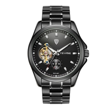 Wholesale factory direct price original quality luxury skeleton mechanical OEM brand custom watch man