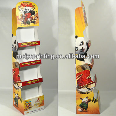 Portable and recyclable CD/DVD/CARDS display stand with nice price