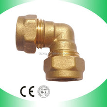 BSP Thread Brass Male and Female Coupling