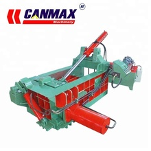 1-4T/H CE automatic metal scrap car baler machine, Horizontal turning out scrap metal baler , low price scrap metal baler