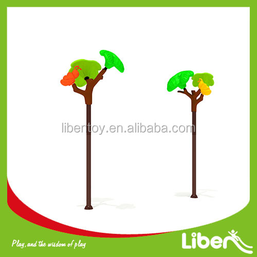 commercial tree part of outdoor playgrounds equipments