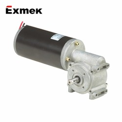 China DC Permanent Magnet motor 12v high torque with Planetary gearbox