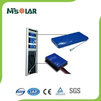 40W new products outdoor lighting solar panel with Controller 21 led street light 40W integrated solar Lamp