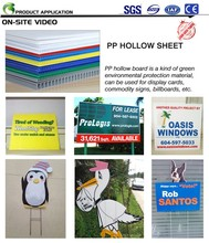 Hdpe Sheet Plastic Advertising Board Best Price PP Sign Board