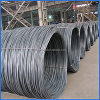 Smooth Surface Carbon Steel Mild Steel Wire Rod Coil High Tensile Strength, prime plasticity