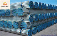 TOP KING hot dip galvanized steel china 2 inch galvanized pipe price for greenhouse