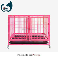 Price custom hot selling welded mesh folding metal dog run cages