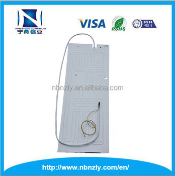 Factory price plate evaporator for refrigerator parts with single capillary