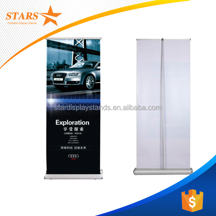 Hot Sales Aluminum Roll Up Banner 85x200 , Roll Up Stand 80*200cm