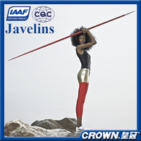 IAAF Certification High quality track & field Athletics Equipment training & competition javelin, athletic javelin