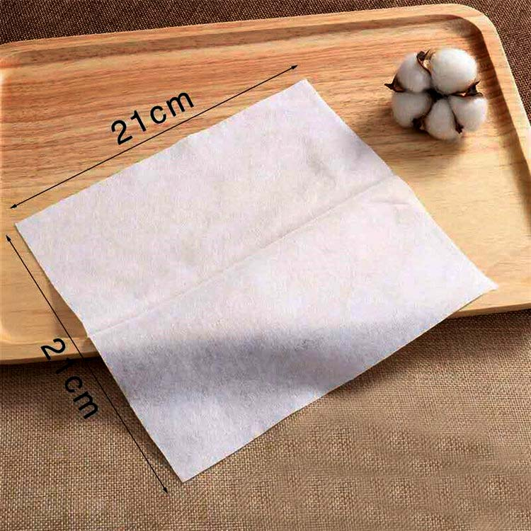 China Factory OEM Disposable Face Towel Cotton Tissue Paper Cosmetic Facial Cotton Tissue Disposable Microfiber Hand Towel