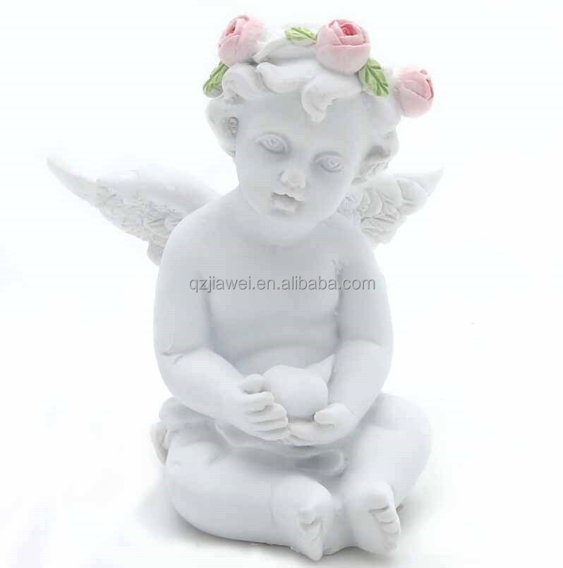 New Arrival Mini Size Resin Angel Figurine Angel Statue