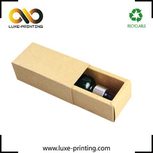 Wine bottle cardboard carton box packaging single glass bottle gift wine boxes wholesale
